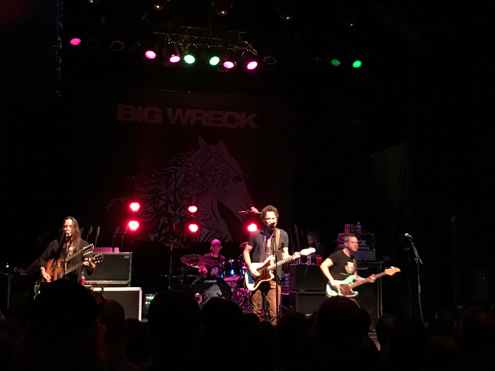 Concert Review: Big Wreck in NYC, 3-3-17
