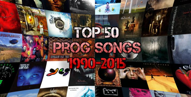 Top 50 Modern Prog Songs 1990-2015 - The Prog Report
