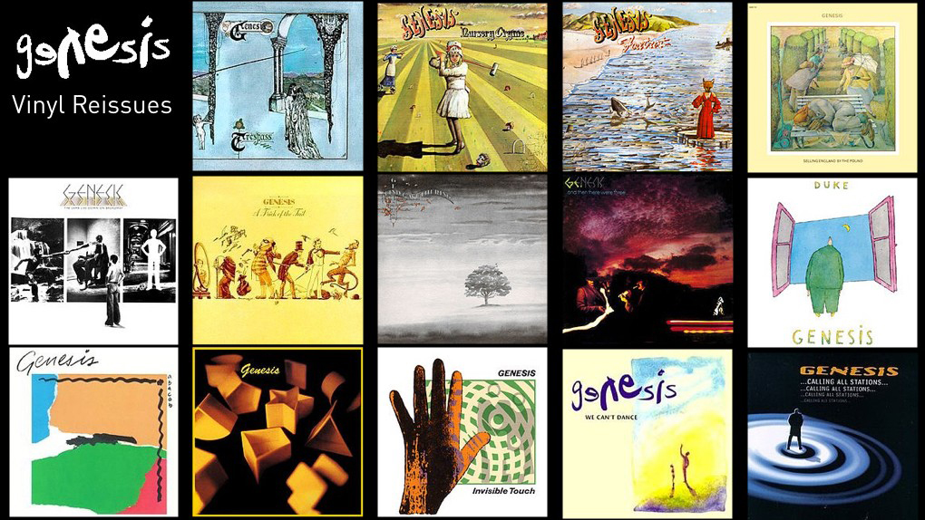 Genesis To Reissue 14 Albums On Heavyweight Vinyl The