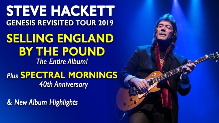 Steve Hackett releases 2019 Canada and U S Tour Dates - The