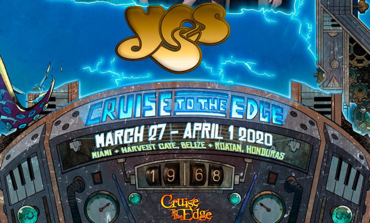 Cruise To The Edge 2020.First Set Of Bands Announced For Cruise To The Edge 2020