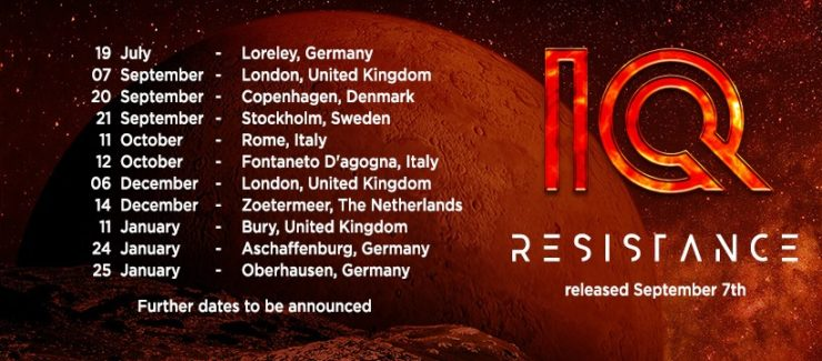iq announce new album 39 resistance 39 and tour dates the prog report. Black Bedroom Furniture Sets. Home Design Ideas