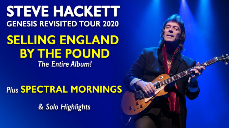Steve Miller Band Tour 2020.Steve Hackett Releases 2020 North American Tour Dates The