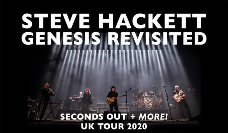 Peter Gabriel Tour 2020.Steve Hackett Announces Seconds Out Uk Tour For 2020 The